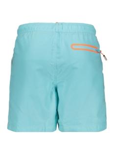 water polo swim short m30018at superdry korte broek light lagoon blue