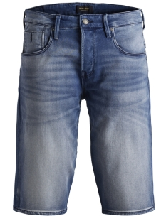 Jack & Jones Korte broek JJIRON JJLONG SHORTS GE 851 I.K. STS 12153412 Blue Denim