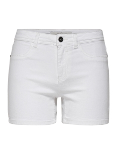Jacqueline de Yong Korte broek JDYELLA SHORTS BOX DNM 15177515 White Denim