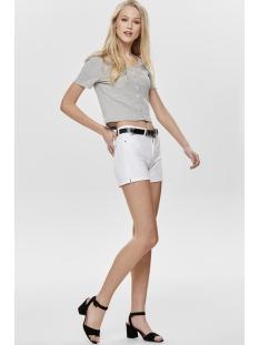 jdyella shorts box dnm 15177515 jacqueline de yong korte broek white denim