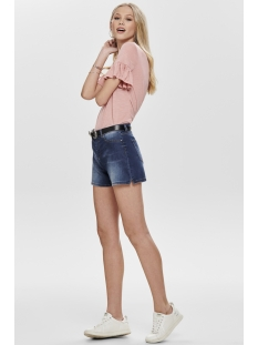jdyella shorts box dnm 15177515 jacqueline de yong korte broek medium blue denim