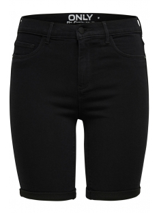 Only Korte broek ONLRAIN MID LONG SHORTS BLACK CRY60 15176847 Black