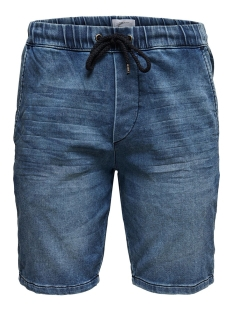 Only & Sons Korte broek onsROD SW SHORTS BLUE PK 2455 22012455 Blue Denim
