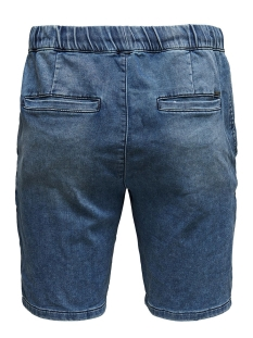 onsrod sw shorts blue pk 2455 22012455 only & sons korte broek blue denim