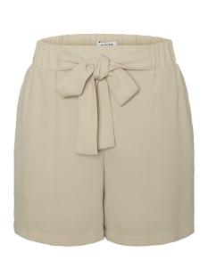 pccarlasofie mw shorts 17096719 pieces korte broek white pepper