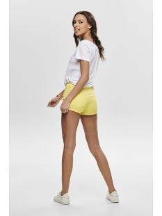 onlclaudia  reg belt shorts pnt noos 15177232 only korte broek popcorn