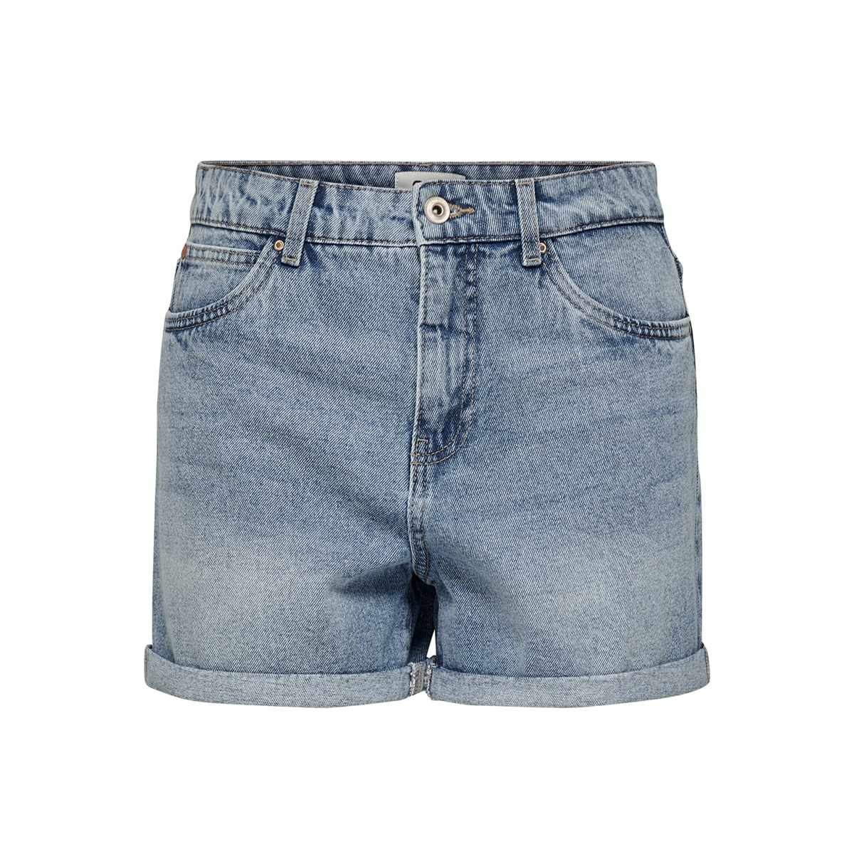 onllola mom midi dnm shorts bb pim1 15176211 only korte broek light blue denim