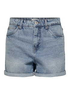 Only Korte broek ONLLOLA MOM MIDI DNM SHORTS BB PIM1 15176211 Light Blue Denim