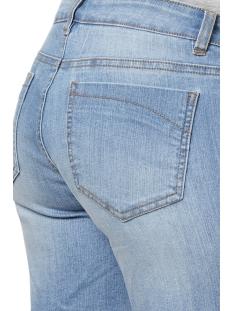 mljulia slim denim shorts a. 20009642 mama-licious positie broek light blue denim