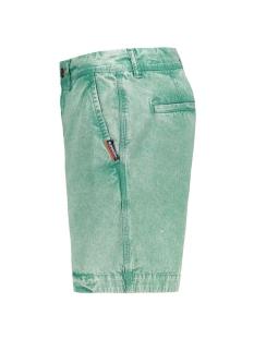 nue wave wash short m71001tq superdry korte broek nue wave green