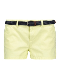 Superdry Korte broek INTERNATIONAL HOT SHORT G71001TQF2 MIAMI LEMON