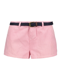 Superdry Korte broek ALMALFI HOT SHORT G71000PQ BLUSH STRIPE