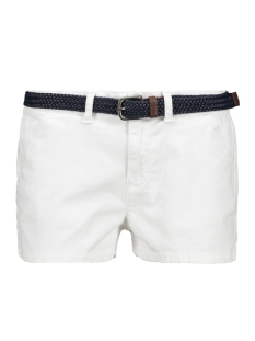 Superdry Korte broek INTERNATIONAL HOT SHORT G71001TQF2 OPTIC WHITE