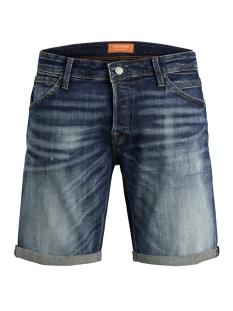 jjirick jjfox shorts jj 154 50sps s 12152605 jack & jones korte broek blue denim
