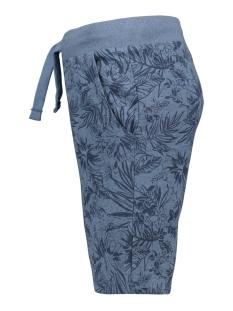 pktgms bay aop sweat shorts 12153921 produkt korte broek stone blue