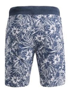 pktgms bay aop sweat shorts 12153921 produkt korte broek dark denim