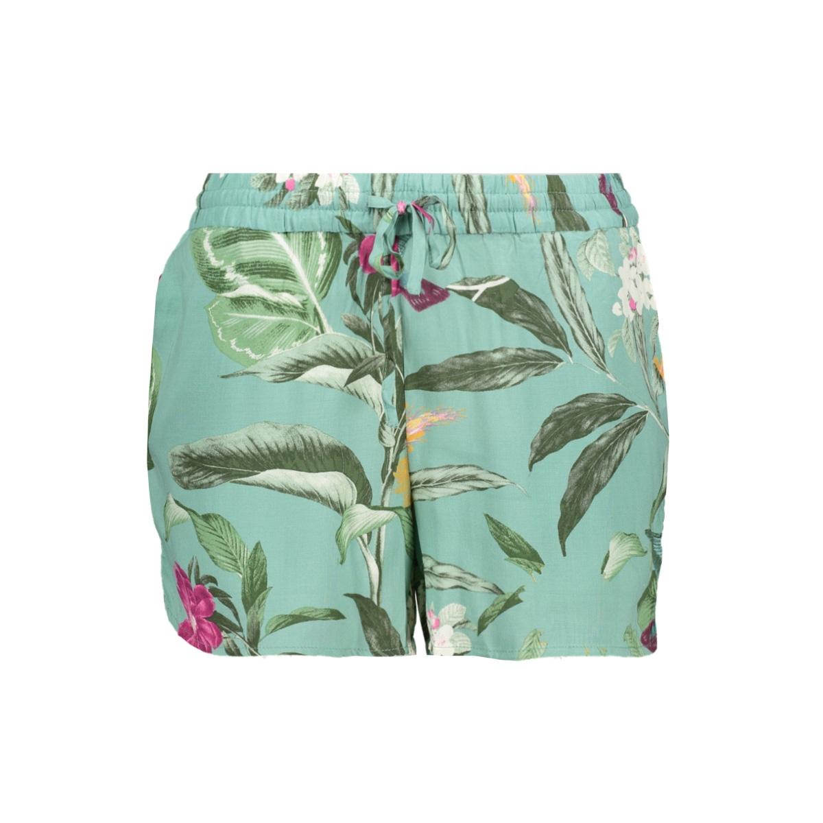 vmsimply easy nw shorts 10211438 vero moda korte broek wasabi/tropicana