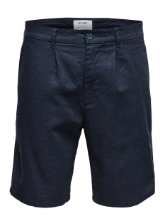 Only & Sons Korte broek ONSLOU LINEN MIX  SHORTS GW 3000 NO 22013000 Dress Blues