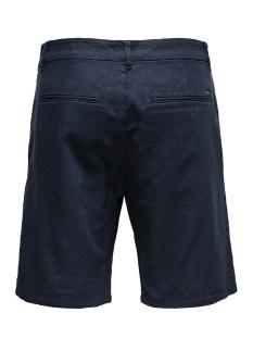 onslou linen mix  shorts gw 3000 no 22013000 only & sons korte broek dress blues