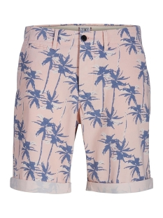 Jack & Jones Korte broek JJIENZO CHINO SHORTS WW 01 PRINT ST 12153535 Lotus/FLOWER AOP