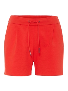 vmeva mr short shorts color 10199857 vero moda korte broek fiery red