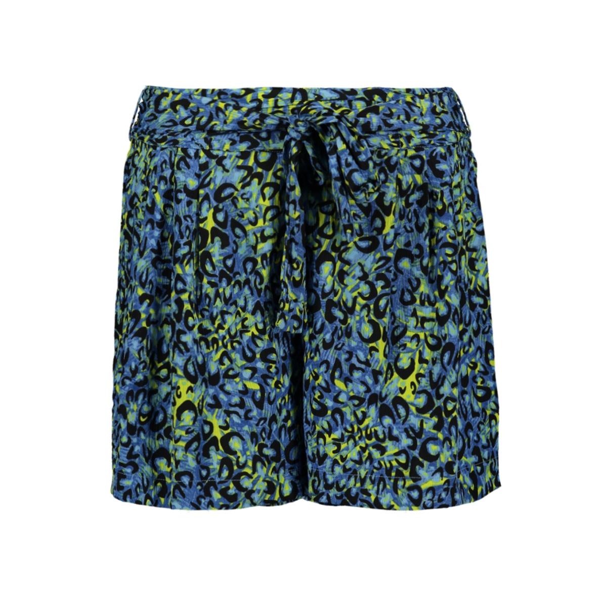 vmdiggy h/w belt shorts exp 10219554 vero moda korte broek baleine blue/diggy