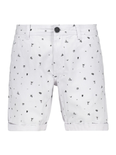 Produkt Korte broek PKTAKM OSCAR 4 POCKET SHORTS AOP 12153000 White