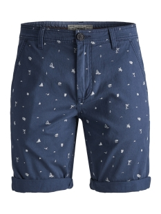 Produkt Korte broek PKTAKM OSCAR 4 POCKET SHORTS AOP 12153000 Dark Denim