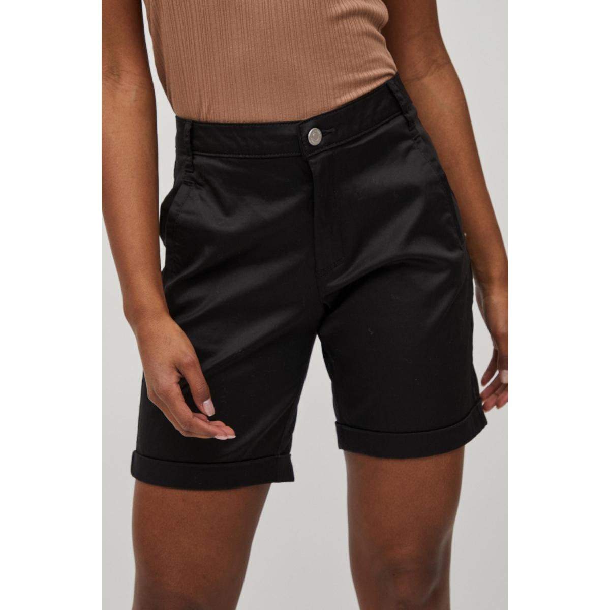 vichino rwre new shorts-noos 14050354 vila korte broek black