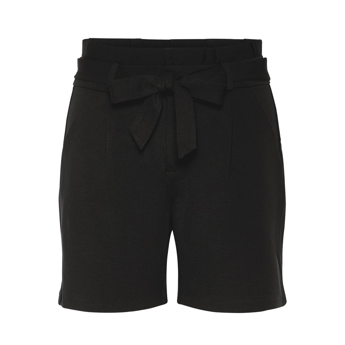 vmeva hr paperbag short shorts noos 10216274 vero moda korte broek black