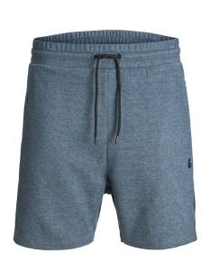 Jack & Jones Korte broek JJICLEAN JJSWEAT SHORTS  NB STS 12151564 Blue Wing Teal/MELANGE