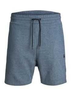 jjiclean jjsweat shorts  nb sts 12151564 jack & jones korte broek blue wing teal/melange