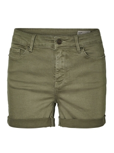 Vero Moda Korte broek VMHOT SEVEN MR FOLD SHORTS COLOR 10209883 Ivy Green