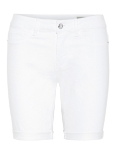 Vero Moda Korte broek VMHOT SEVEN NW DNM LONG F SHORT MIX 10193078 Bright White