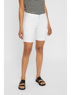 vmhot seven nw dnm long f short mix 10193078 vero moda korte broek bright white