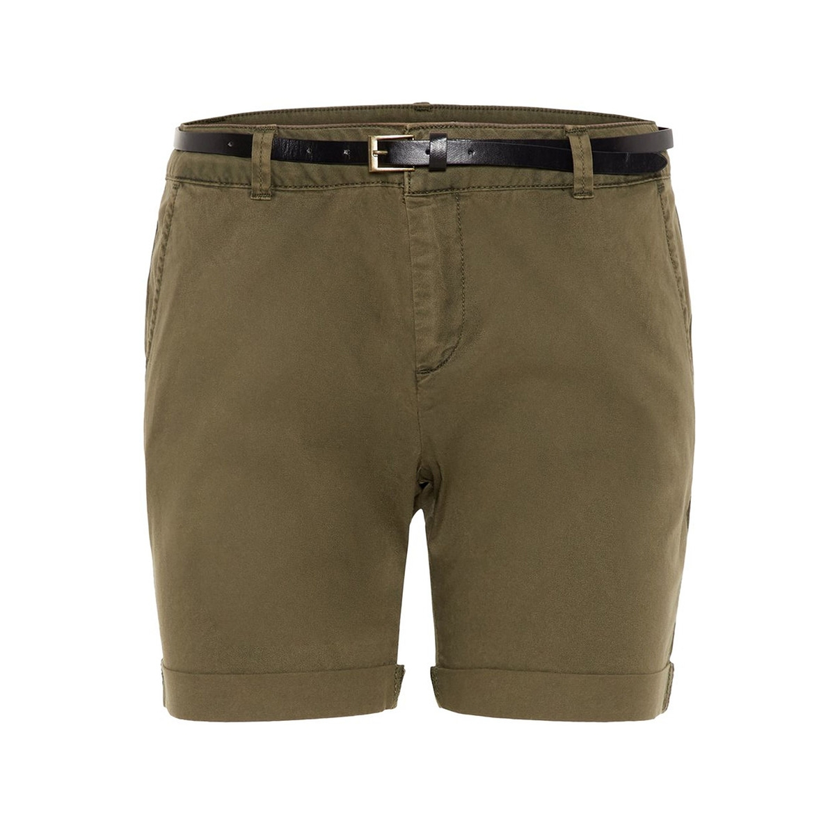 vmflash mr chino shorts noos 10210346 vero moda korte broek ivy green