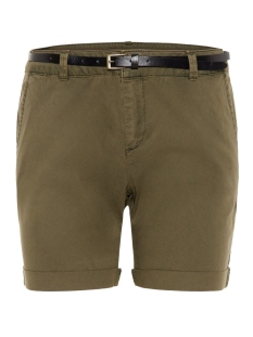 Vero Moda Korte broek VMFLASH MR CHINO SHORTS NOOS 10210346 Ivy Green