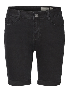 onlcorin midwaist  dnm shorts box b 15175395 only korte broek black