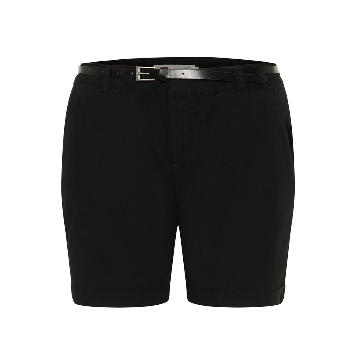 vmflash mr chino shorts noos 10210346 vero moda korte broek black