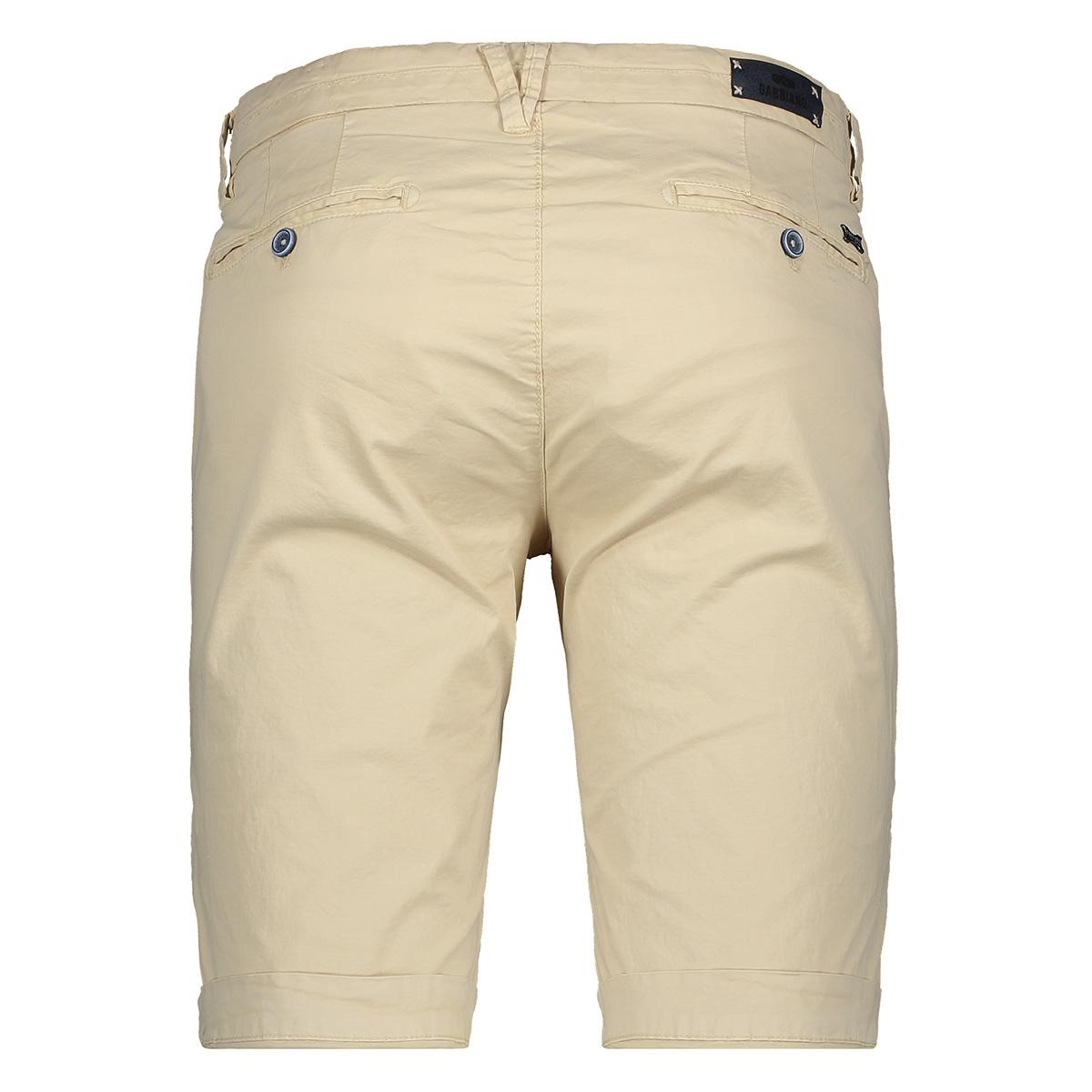 colour pant short 82582 gabbiano korte broek ecru