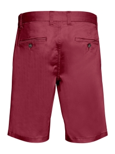 pristu sh chino short 30203711 matinique korte broek 27551 brick red