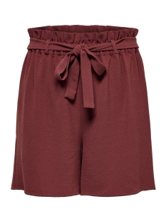 Only Korte broek ONLTURNER PAPER BAG SHORTS WVN NOOS 15160659 Russet Brown