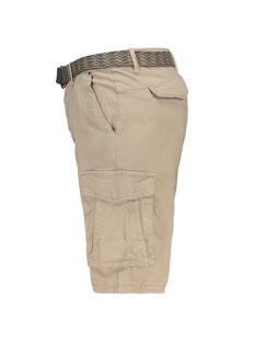 twill short met riem 908190483 no-excess korte broek 043 khaki