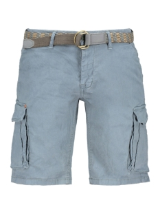 NO-EXCESS Korte broek TWILL SHORT MET RIEM 908190483 049 SMOKE