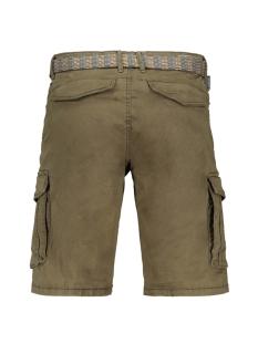twill short met riem 908190483 no-excess korte broek 059 dk army