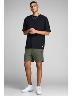 jjiclean jjsweat shorts  nb sts 12151564 jack & jones korte broek rosin/melange