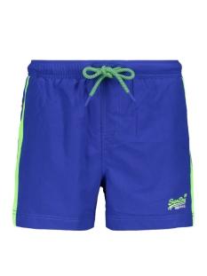 beach volley swim short m30010at superdry korte broek racer cobalt