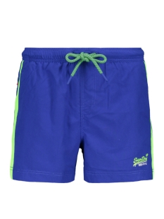 Superdry Korte broek BEACH VOLLEY SWIM SHORT M30010AT RACER COBALT