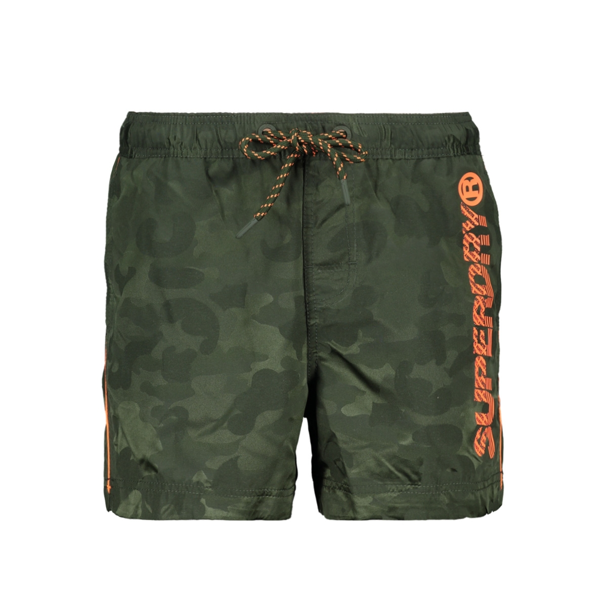 pool side swim short m30012at superdry korte broek seaweed camo jacquard