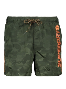 Superdry Korte broek POOL SIDE SWIM SHORT M30012AT SEAWEED CAMO JACQUARD
